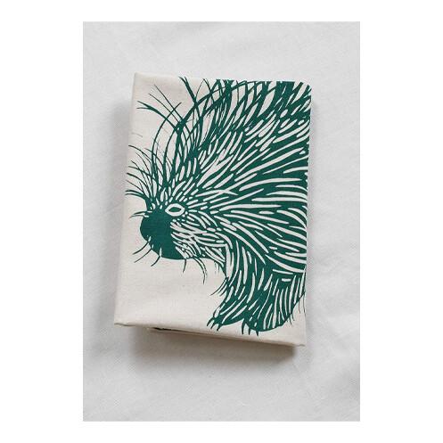 Hearth & Harrow Organic Cotton Tea Towel - Porcupine