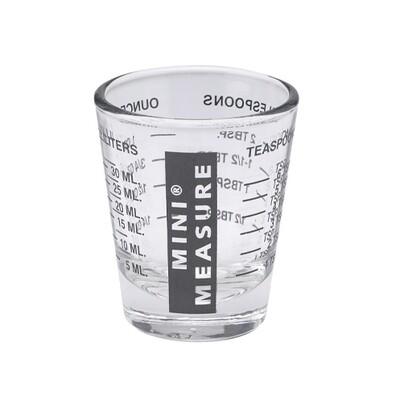Mini Measure Black 1 Ounce Measuring Cup