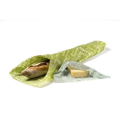 Z Wraps 2 Pack: Medium & XL Wrap - Bread and Cheese