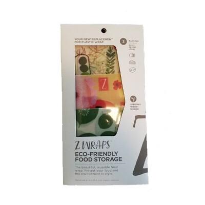 Z Wraps Multi-Size 3 Pack - Mixed pack Leafy/Poppy/Farmer