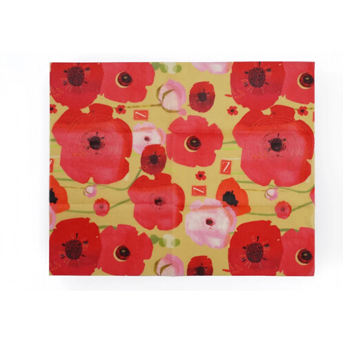 Z Wraps Large - Painted Poppies