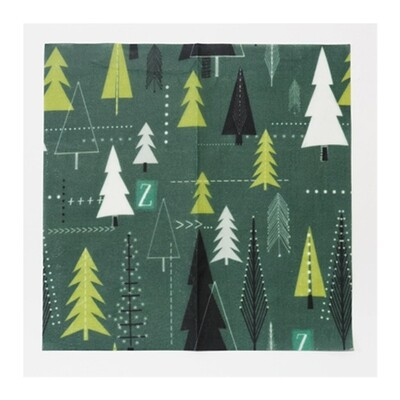 Z Wraps Large - Trees