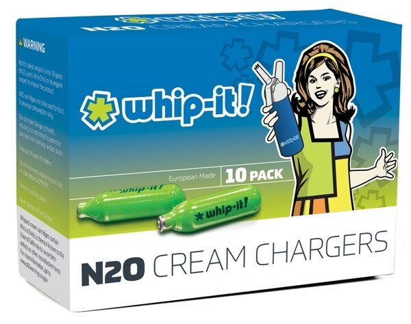 Whip-it! N2O Cream Chargers 10 pack
