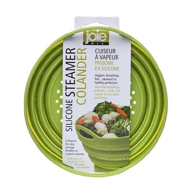 Joie Collapsible Silicone Steamer Colander