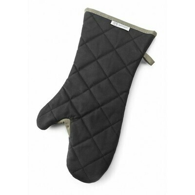 Cotton BBQ/Grill Mitt - Black