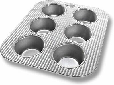 USA Pan - 6 Cup Muffin Pan