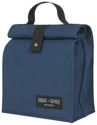 Forage + Gather Lunch Bag - Blue