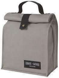 Forage + Gather Lunch Bag - Grey