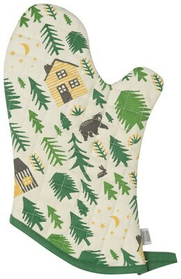 Now Designs Oven Mitt - Wild & Free
