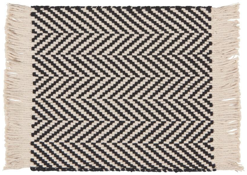 Now Designs Harris Placemat - Black
