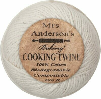 Mrs Anderson's Cotton Cooking Twine - 200ft