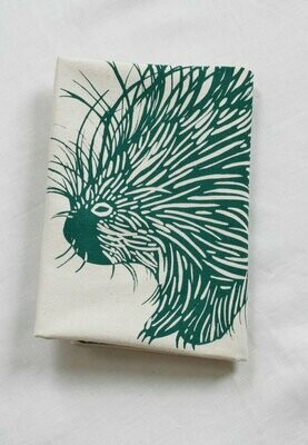 Hearth & Harrow Organic Cotton Tea Towel - Porcupine