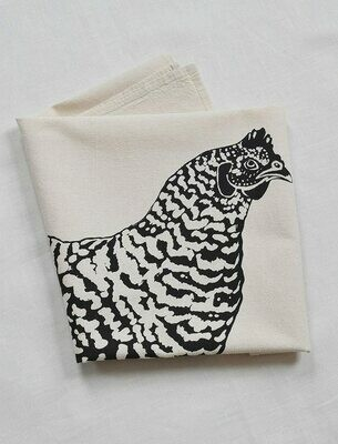 Hearth & Harrow Organic Cotton Tea Towel - Chicken