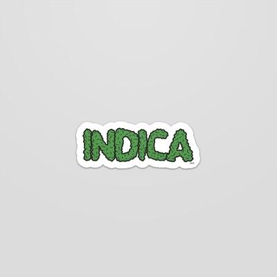 INDICA/SATIVA sticker