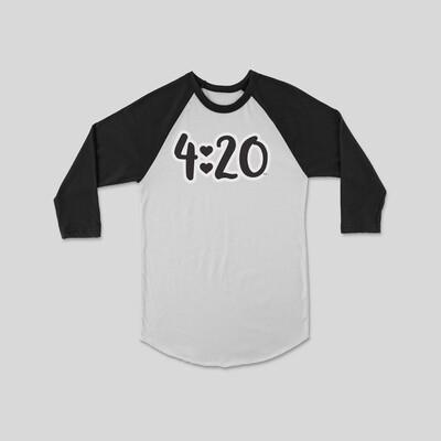 4:20 Raglan Sleeve