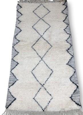 Beni Ourain rug 315 x 195 cm