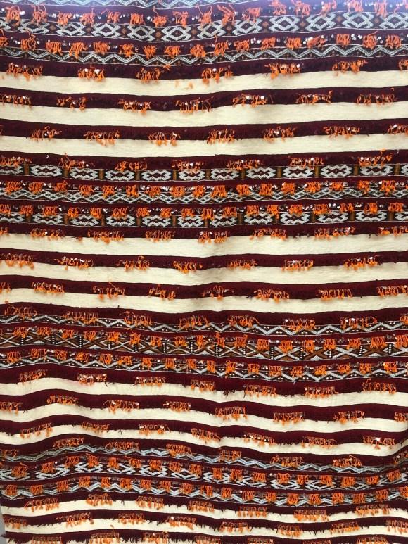 Handwoven Berber Handira Kilim Rug 230 x 170 cm