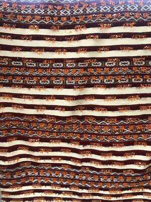 Handwoven Berber Handoura Kilim Rug 230 x 170 cm