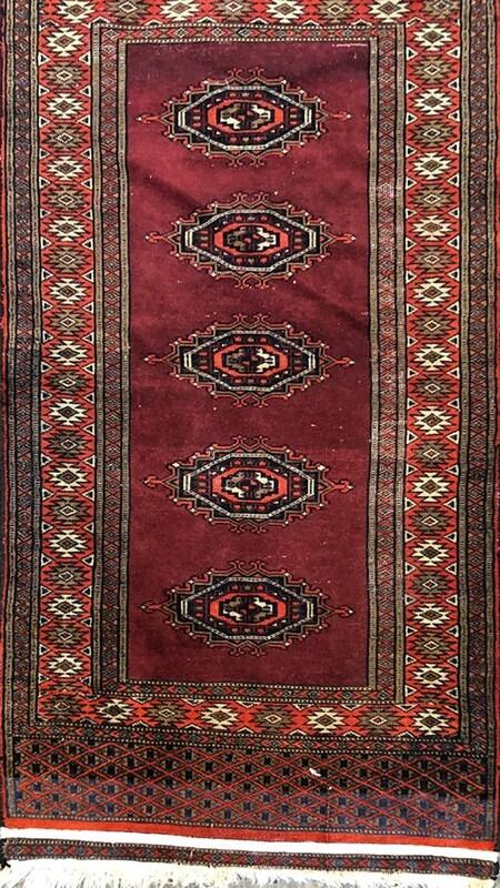 Handwoven Berber Kilim Rug