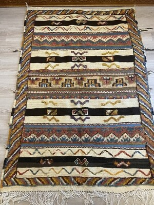 Handwoven Taznakht Berber Glaoui Moroccan Rug 160 x 104cm
