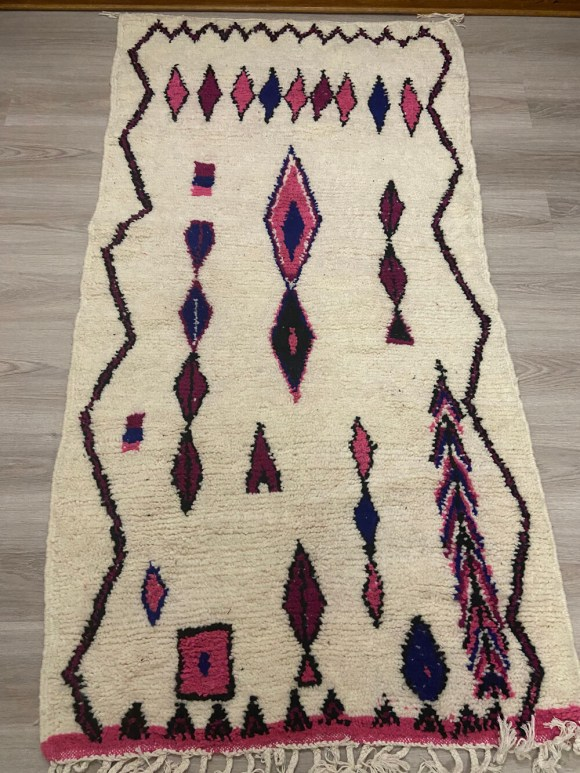 Handmade Azilal Moroccan Rug 170 x 82cm
