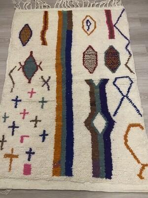 Handmade Azilal Moroccan Rug 150 x 100cm