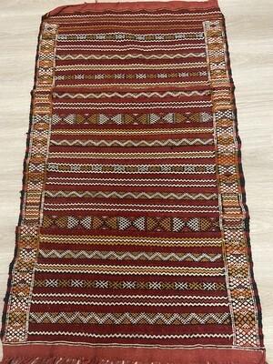 Handwoven Berber Kilim Rug 125 x 70cm