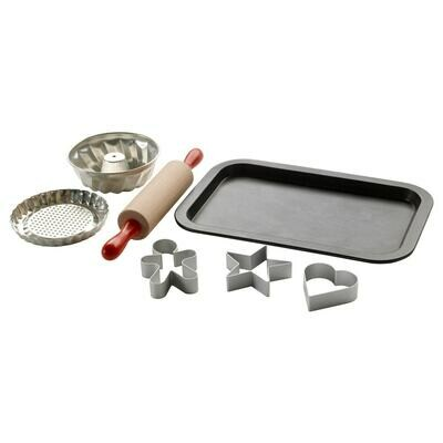 DUKTIG 7PC TOY BAKING SET