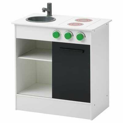 NYBAKAD PLAY KITCHEN WITH SLIDING DOOR