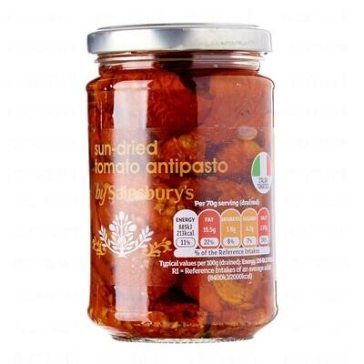 Sainsbury's Sun Dried Tomato Antipasto in Oil