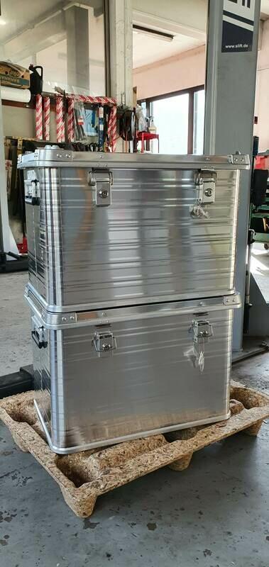 Transportbox 76L horntools Aluminium Heavy Duty