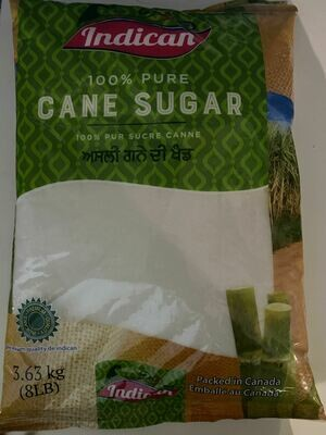 indican 100% pure cane sugar 3.63 kg