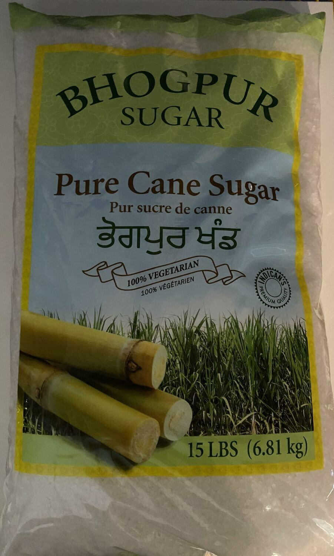 Bhogpur Sugar Pure Cane Sugar 6.81 kg (15LBS)