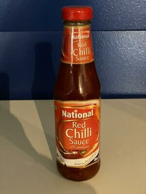 NATIONAL RED CHILLI SAUCE 300GM