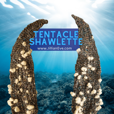 Tentacle Shawlette Knitting Pattern