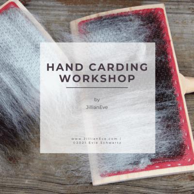 Hand Carding Workshop