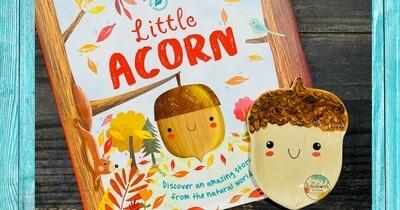 Little Acorn Read-Aloud & Pottery-Sept 1st 10:30am