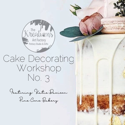 Cake Decorating Workshop No.3