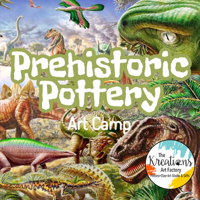 Prehistoric Pottery Art Camp: June 21st-23rd