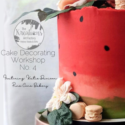 Cake Decorating Workshop No.4