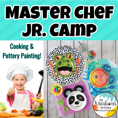 Master Chef Jr. Camp 🥣