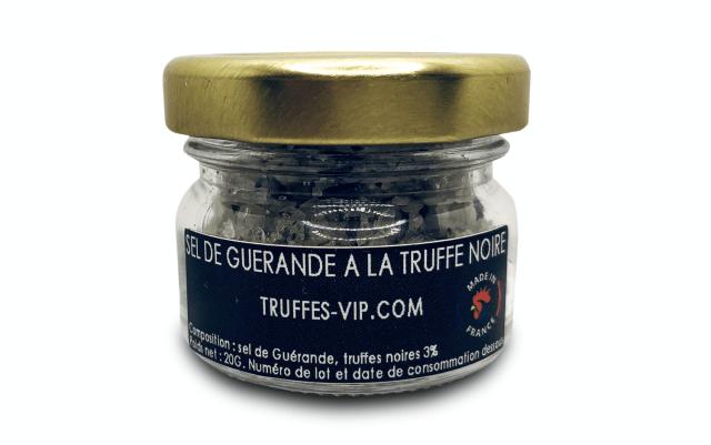 Guérande salt með svörtum jarðsveppum (20g)