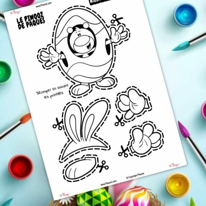 Déguiser Piwooz - Le Piwooz de Pâques