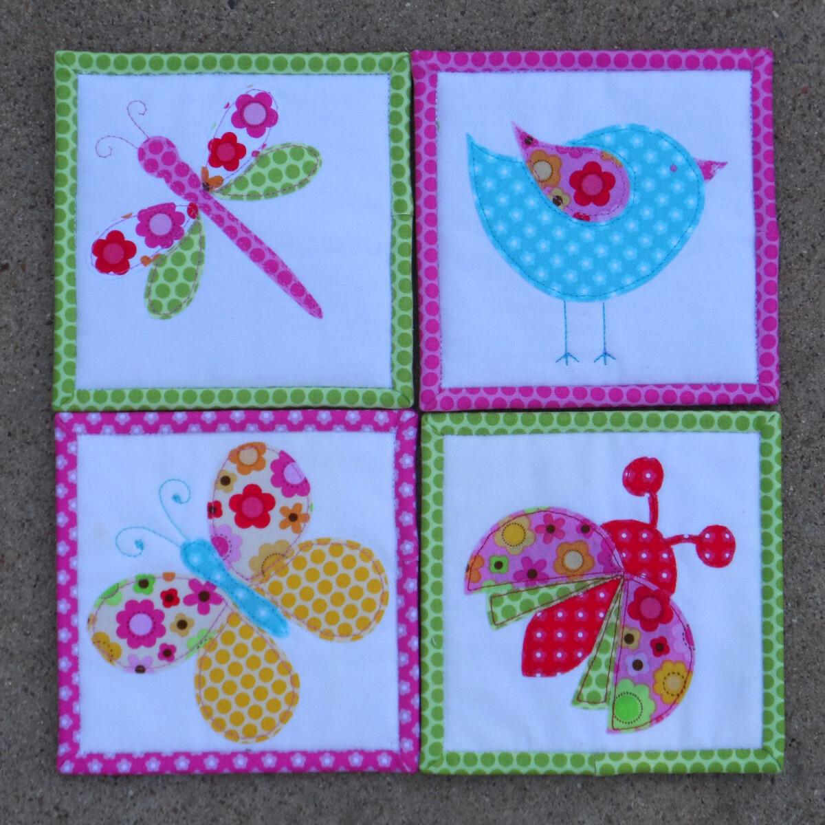 Little Buddy Coasters PDF Pattern