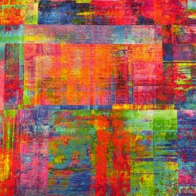 Multi-Colored Elements 3-Yard Precut 108