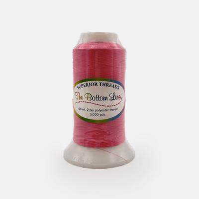 The Bottom Line Quilting Thread #604 Dark Pink