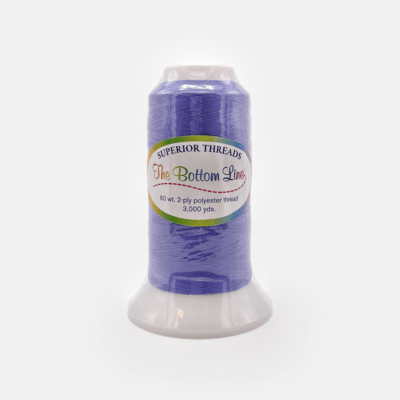 The Bottom Line Quilting Thread #608 Periwinkle