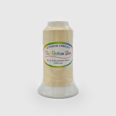 The Bottom Line Quilting Thread #620 Cream