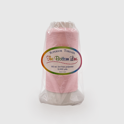 The Bottom Line Quilting Thread #628 Baby Pink