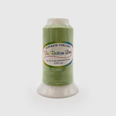 The Bottom Line Quilting Thread #614 Light Green